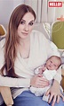 Rosie Marcel introduces her baby daughter