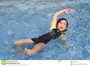 Girl Drowning Stock Photo - Image: 12691540