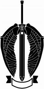 Nameless winged sword logo, artsy alt. by RennisTora on ...