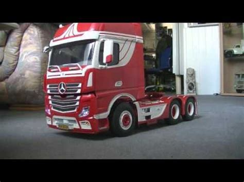 Tamiya Mercedes Actros Youtube