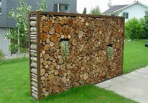 Garten Sichtschutz Holz : sichtschutz im garten sch tzen sie ihre privatsph re ~ Whattoseeinmadrid.com Haus und Dekorationen
