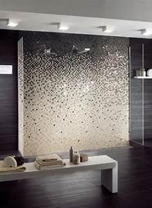 Moderne Wandgestaltung Bad : feinsteinzeug mosaikfliesen f r wandgestaltung im badezimmer stilvoller farbverlauf bad ~ Sanjose-hotels-ca.com Haus und Dekorationen