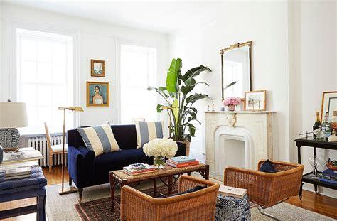 fresh preppy  york apartment la dolce vita