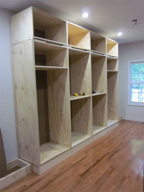 built in closet also info on applying crown molding etc