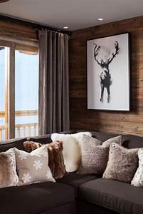 Gemälde Hirsch Modern : gem lde hirsch w nde chalet chic ski chalet chalet m bel ~ Orissabook.com Haus und Dekorationen