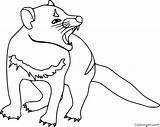 Devil Tasmanian Coloring Pages sketch template