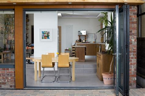 manchester mirrored bi fold doors dining room contemporary