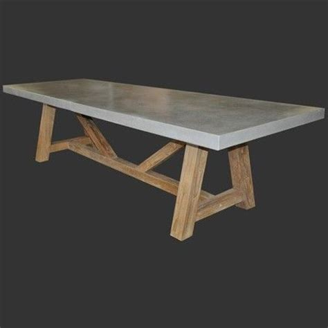 concrete top outdoor dining table cool outdoor dining table http www designwarehouse co nz