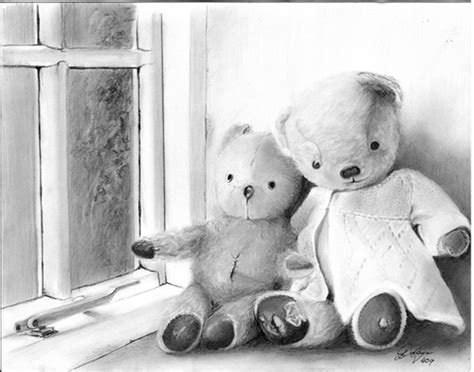 lovely teddy bear drawings  inspiration hative