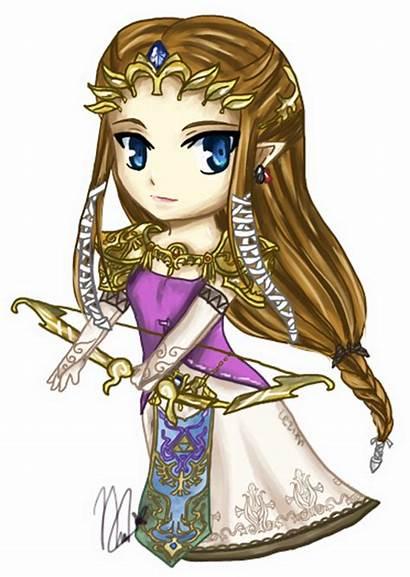 Zelda Princess Twilight Chibi Deviantart Legend Loz