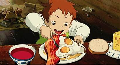 Ghibli Castle Moving Howl Tamago Spoon Scene