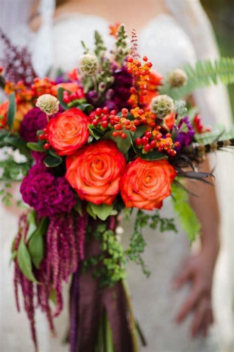 steal worthy fall wedding bouquets