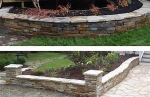 le muret en pierre naturelle habitation jardin et With avis maison des travaux 9 pierre naturelle du perigord travaux
