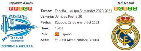 Resultado Alavés 1 - 4 Real Madrid 23 de Enero LaLiga ...