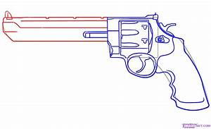 How to Draw a Weapon, Step by Step, guns, Weapons, FREE ...