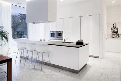 Cuisine Blanche Design  Sélection De 20 Intérieurs De