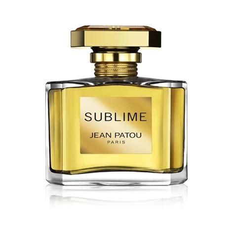sublime eau de toilette vaporisateur sublime parfums femme jean patou