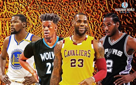 Ranking The Top Candidates To Win The 2018 Nba Mvp Award