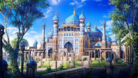 Uzbek oriental palace by ideaday on DeviantArt