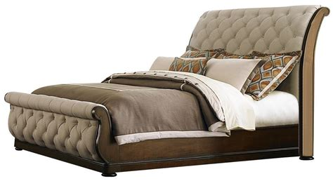 cotswold king upholstered sleigh bed woodstock furniture