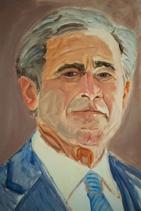 president art shows george bush paintings