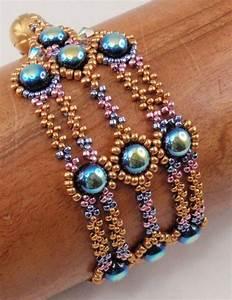 Beading Tutorial For Valor Bracelet  Jewelry Pattern