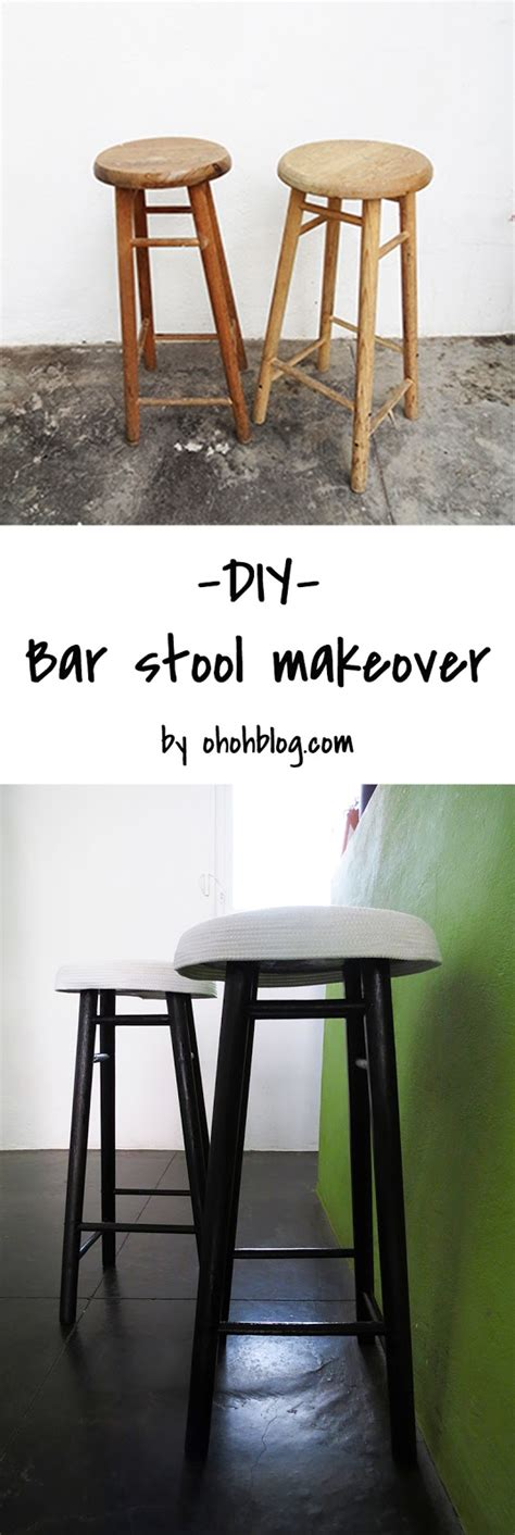 Bar Makeover by Bar Stool Makeover Ohoh