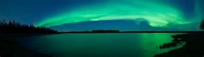Aurora Wallpapers Borealis 3840 1080 Panoramic Aura