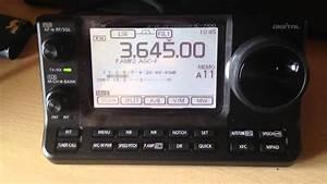 Icom - Ic 7100 In Use Cw - Lsb - Wfm - Rtty