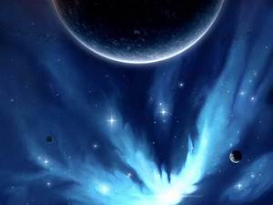 wallpapers: Blue Space Wallpapers
