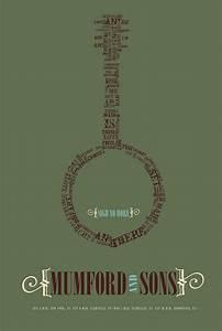 Mumford & Sons Poster Design on Behance