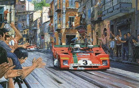 automobilkunst watts nicholas targa florio