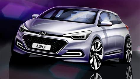 2015 Hyundai I20 Sketches Reveal Allnew City Car's