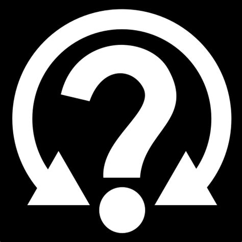 uncertainty icon game iconsnet
