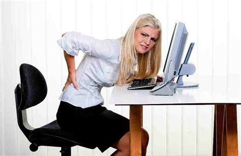 back pain from sitting at desk why a good office chair prevents stress on your body