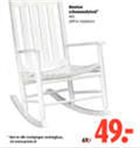Witte Schommelstoel Praxis by Vergelijk Aanbiedingen Met De Tekst Schommelstoel
