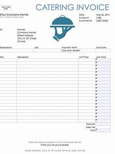 catering invoice template invoice example With catering invoice example