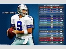 2010 Dallas Cowboys Schedule Michael Tipton Flickr