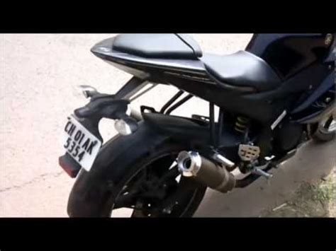 R15 V2 Modification Tips by Yamaha R15 Version 2 0 Exhaust Modification Sound