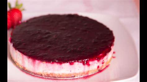 autentica tarta de queso sin horno  york cheesecake