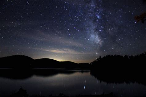 Stargazing At Pharaoh Lake In The Eastern Adirondacks