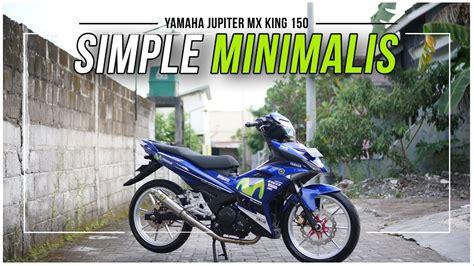 review jupiter mx king modif road race harian