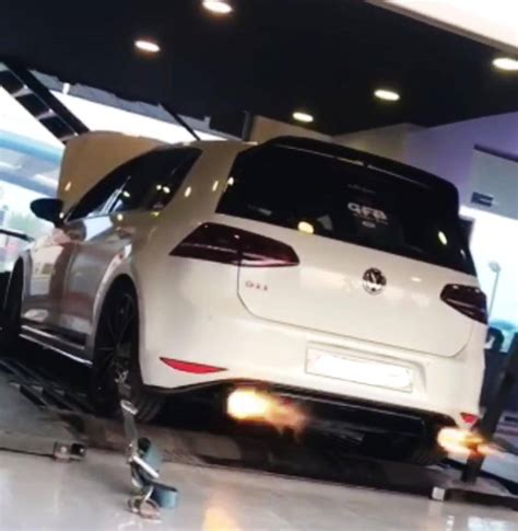 vw golf  gti clubsport tsi stage ron etuners