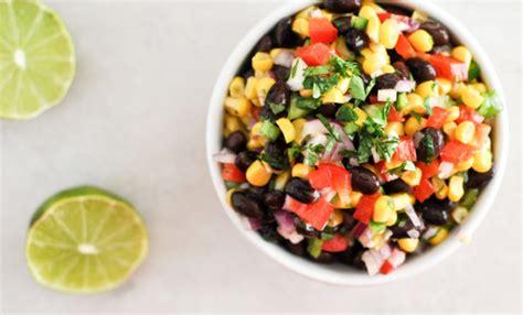 thai black bean  corn salad recipe relish