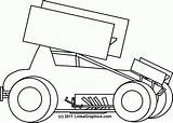 Sprint Race Clip Coloring Clipart Dirt Modified Colouring Drawings Cars Kart Template Outlaw Sheets Imca Az Colori Clipartlook Templates Sketch sketch template