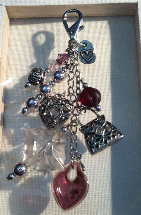 purse bling  purse charms creations  littleheart