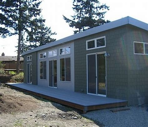 New Home Eco Design Goes by Eco Homes Port Townsend Goes Green With Ideabox Prefab