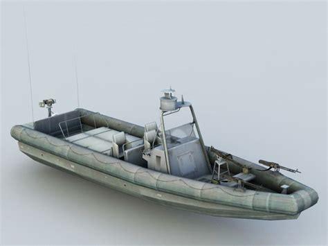 small patrol boat  model ds maxobject files