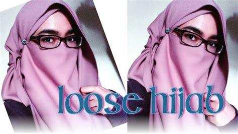 loose hijab niqab tutorial doovi