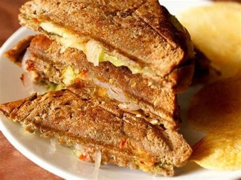 Toast Sandwich by Veg Toast Sandwich Recipe How To Make Bombay Vegetable